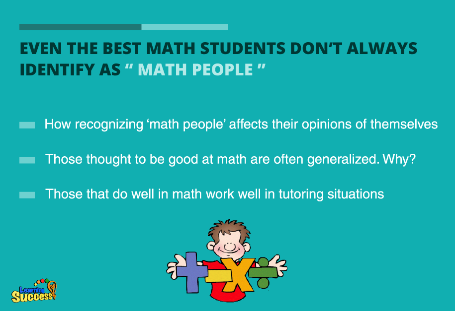 Being Good at Math Doesn\'t Make You a \