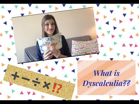 Learning About Dyscalculia
