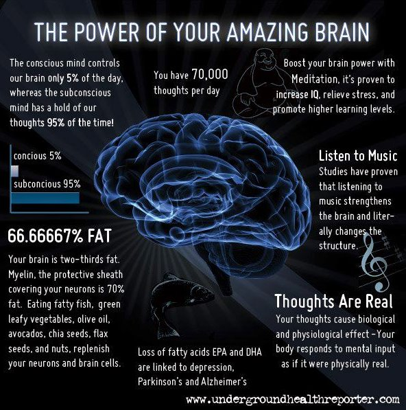 7 Awe-Inspiring Facts About Your Brain (infographic)