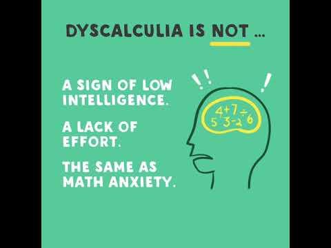 The Struggle Of Dyscalculia