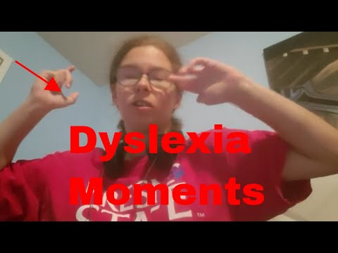 Moments With Dyslexia